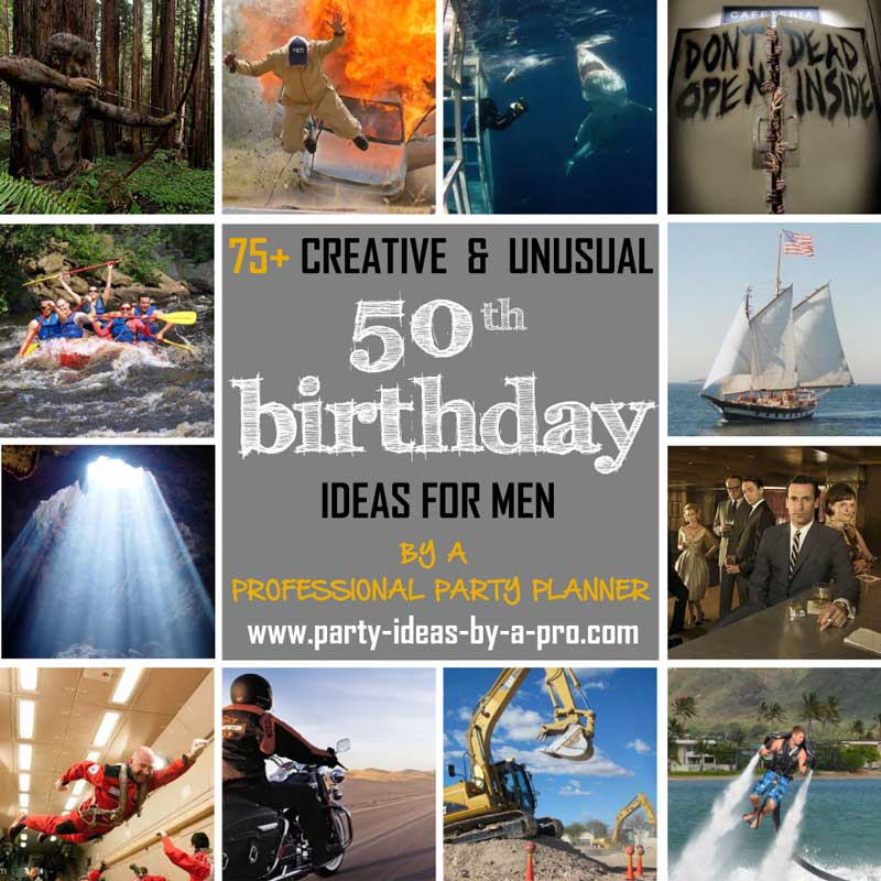 50th Birthday Ideas For Men