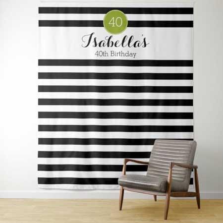 stiped backdrop tapestry
