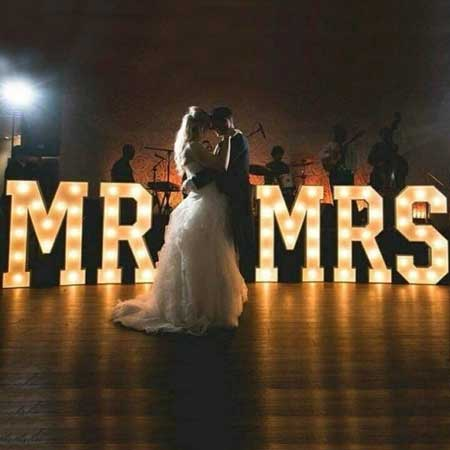 marquee light letters