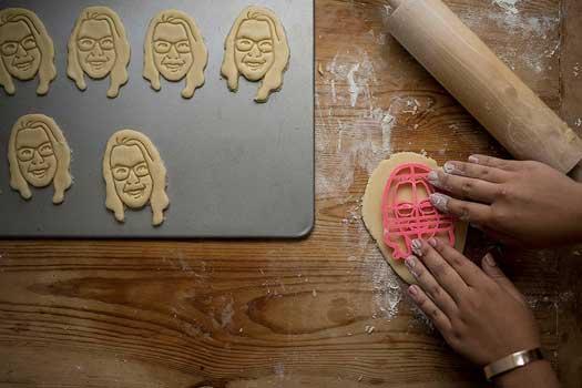 custom face cookie cutters