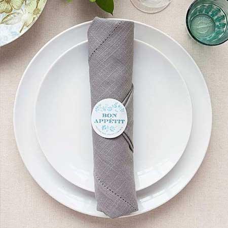 napkin stickers