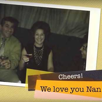 vintage photo of Nan