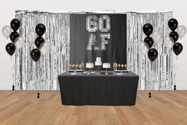 60 AF dessert table