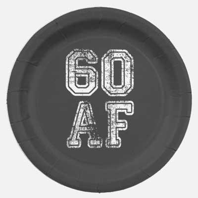 60 AF party plates