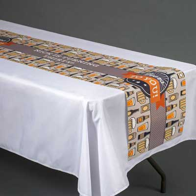 Beers to You table runner