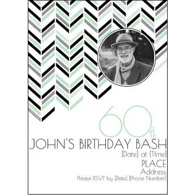 Best 60th Ever invitations