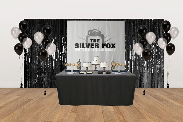 The Silver Fox dessert table