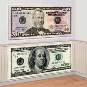 money wall stickers
