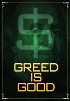 greed is good poster