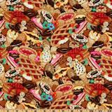 food print fabric