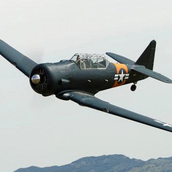 WWII Spitfire Flight