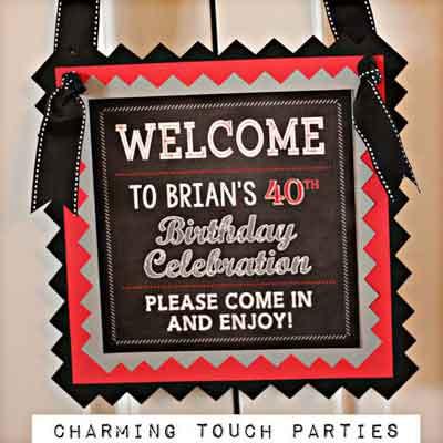 40/50/60/70 Rocks birthday party supplies