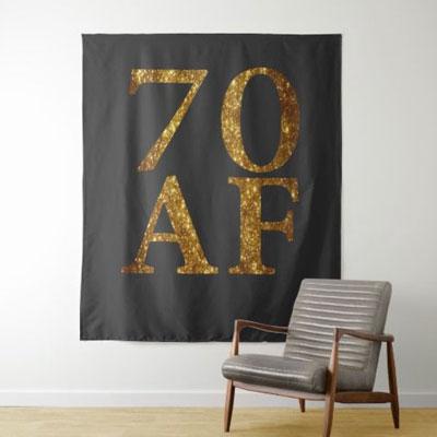 70 AF backdrop wall tapestry