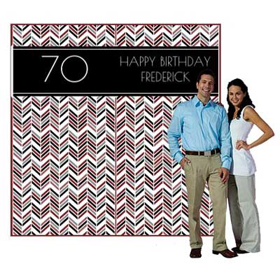 Best Day Ever 70th backdrop