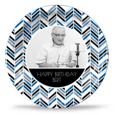 Best Day Ever 70th birthday custom party plates