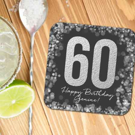 personalized drinks coasters