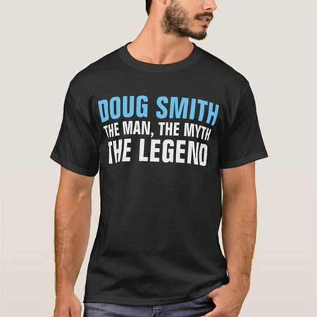 The Man, The Myth, The Legend T shirt