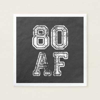80 AF napkins