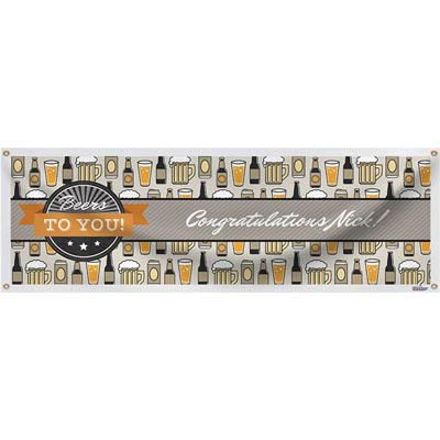 Beers to You custom banner