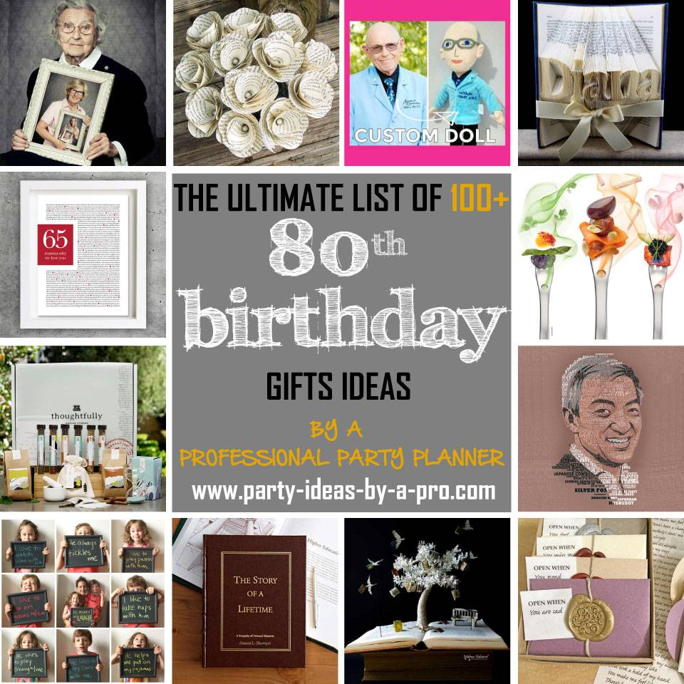 100+ 80th Birthday Gifts—by a