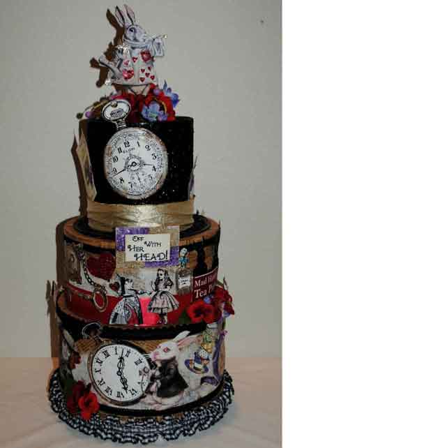 alice in wonderland centerpiece