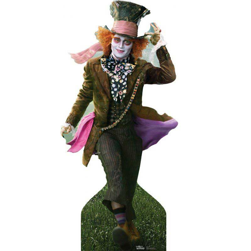 mad hatter cut out