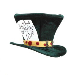 mad hatters top hat