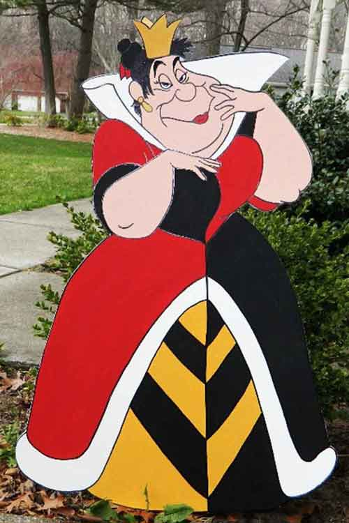 queen of hearts stand up
