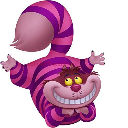 cheshire cat wall decals