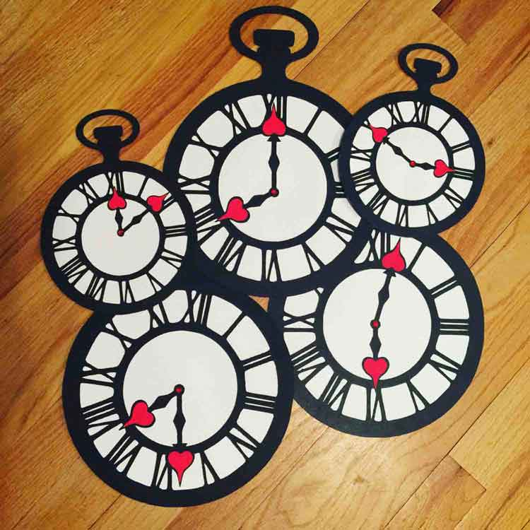 pocket watch decorations