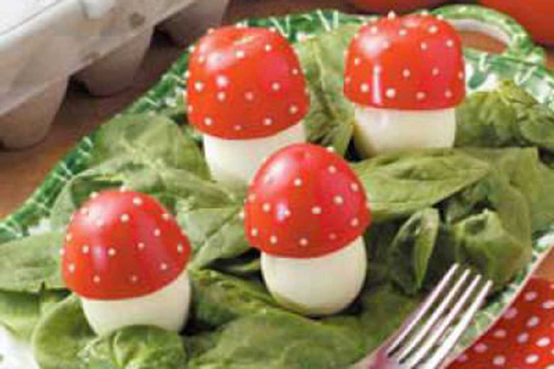 edible fairy tale mushrooms