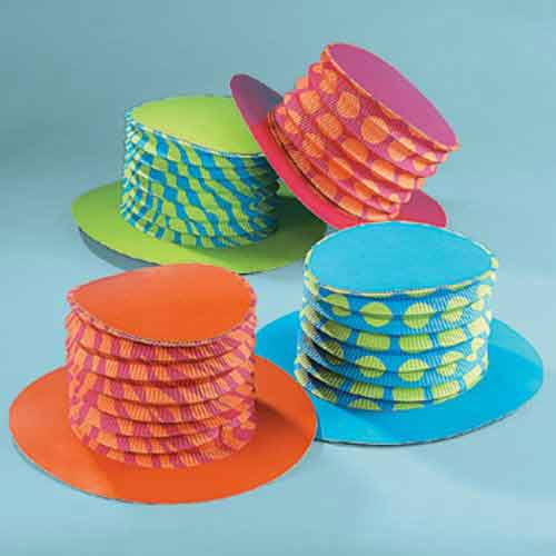 accordian hats