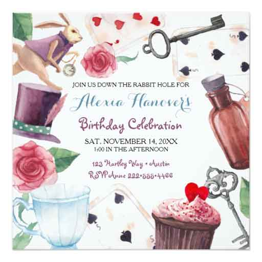 100 Alice in Wonderland Party Ideasby a Professional Party Planner