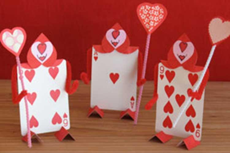 playing card men