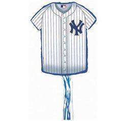 baseball jersey pinata