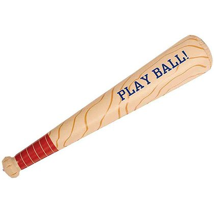inflatable baseball bat