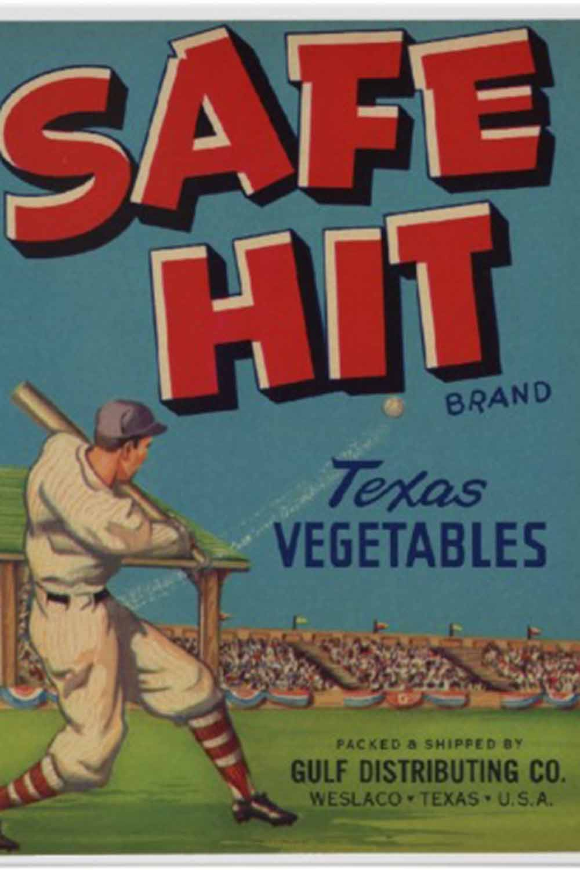 retro baseball posters