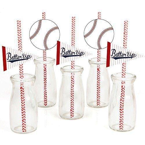 baseball straws