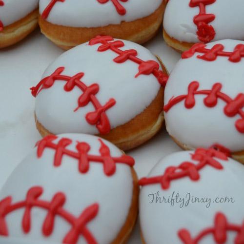 baseball donuts