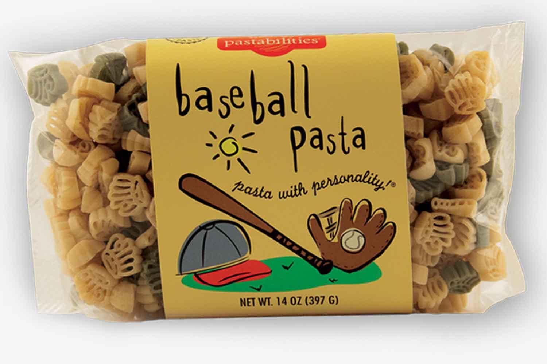 baseball pasta