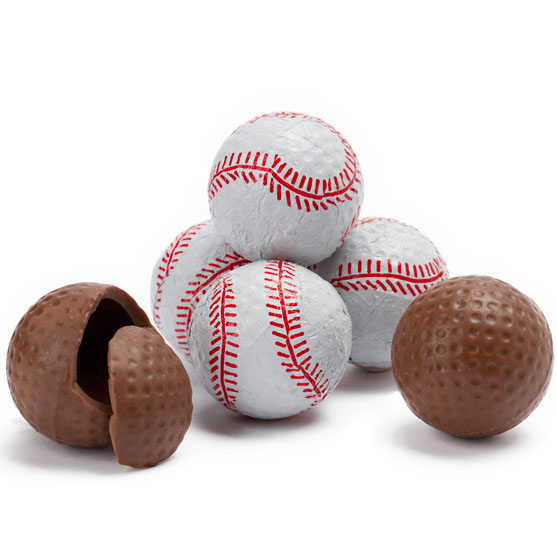 chocolate baseballs