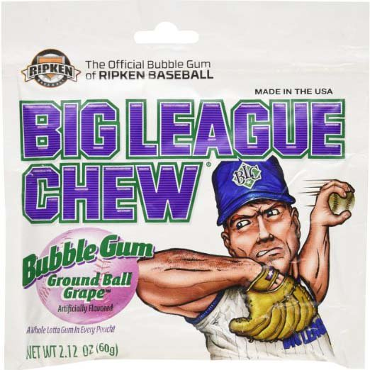 big league chew bubblegum