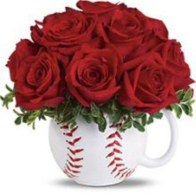 baseball planter