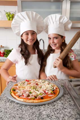 girls cooking party