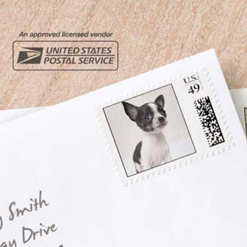 custom photo postage stamps