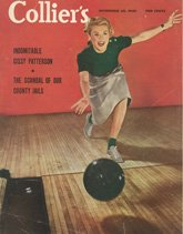 retro bowling posters