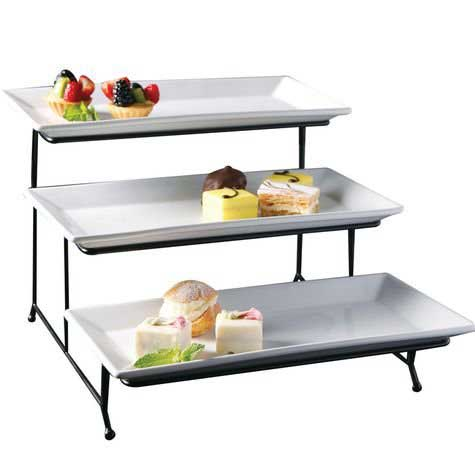buffet table risers