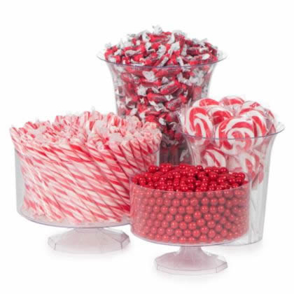 red colored candy