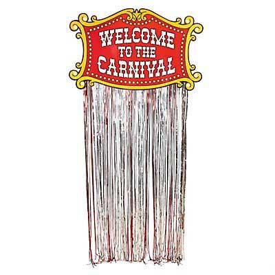 carnival door banner
