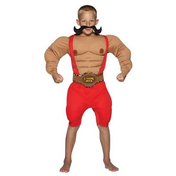kids carnival strong man costume